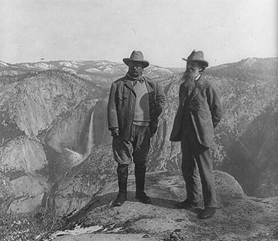 Theodore Roosevelt And John Muir Library Of Congress