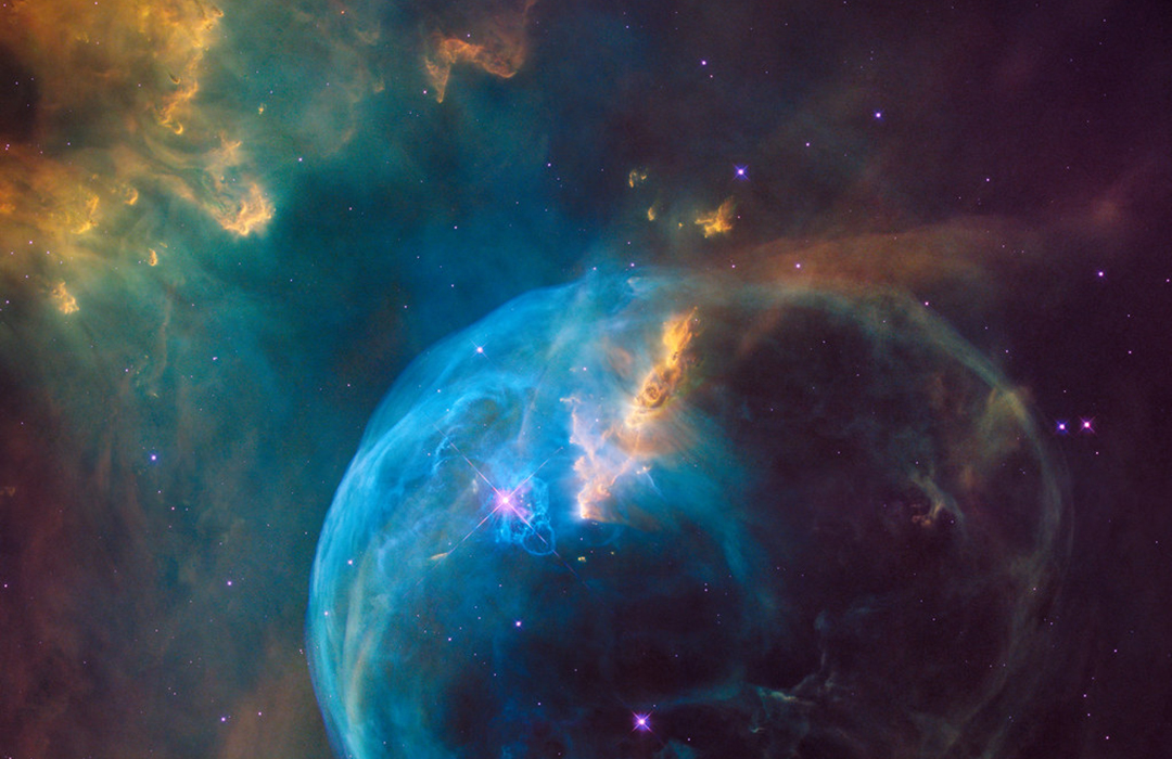 A view of deep space