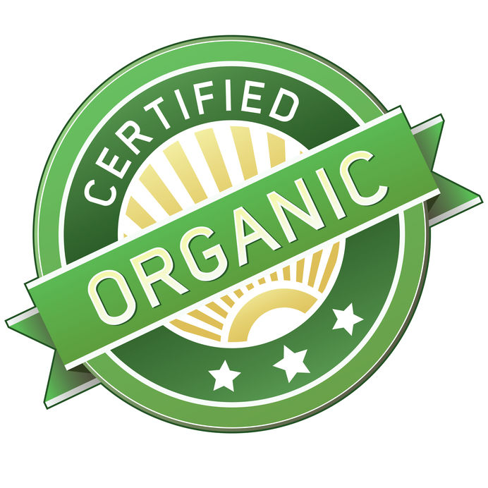 4695147 Certified Organic Label Or Sticker For Products Vector Illustration