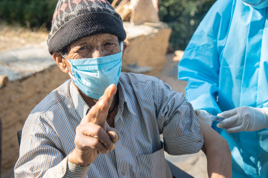 Corona Virus Vaccination In Indian Village