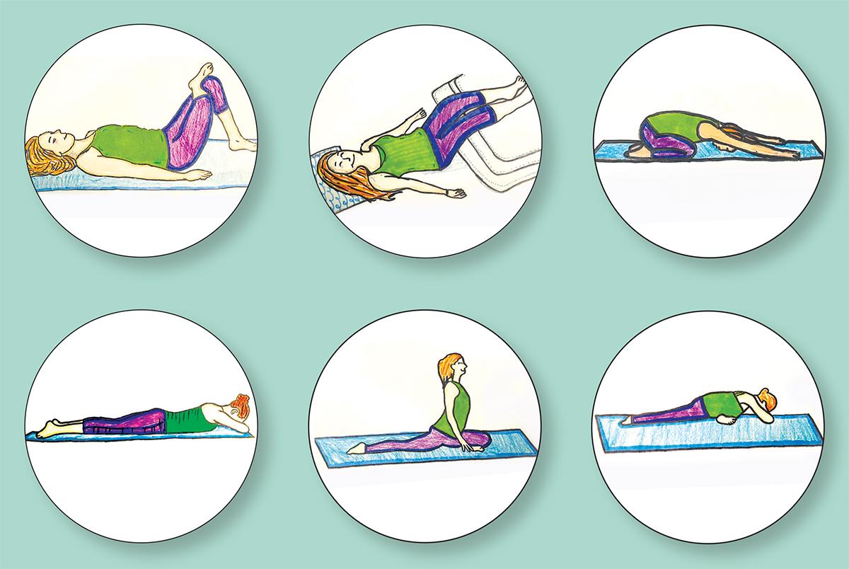 Yoga Poses Rectangle Photo For Web