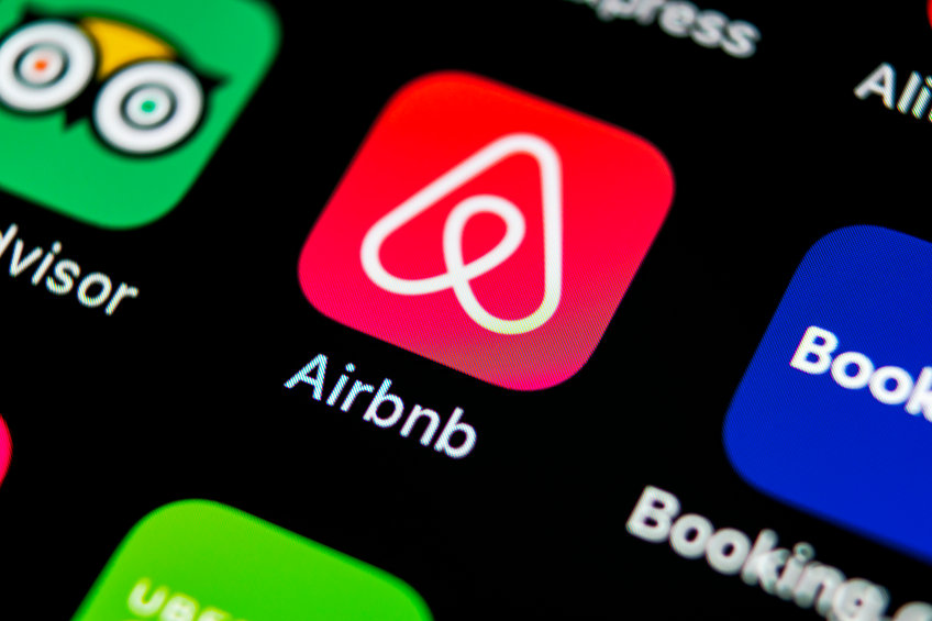 Sankt Petersburg, Russia, May 10, 2018: Airbnb Application Icon