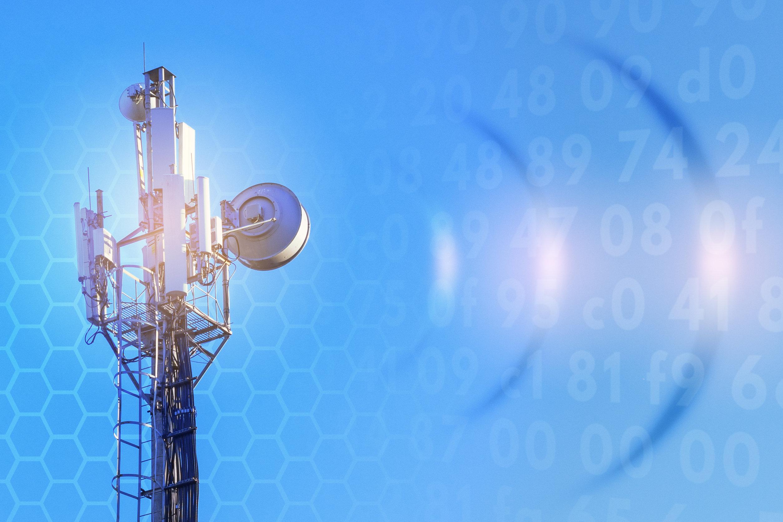 Concept Of Wireless Radio Internet. 5g. 4g, 3g Mobile Technologies.